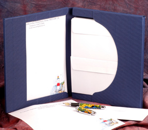 Gift Pack of Decorated Notepaper